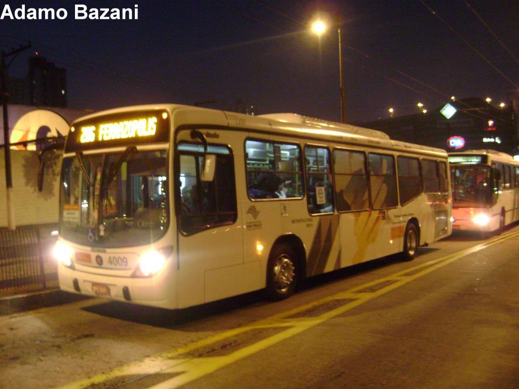 ônibus a etanol