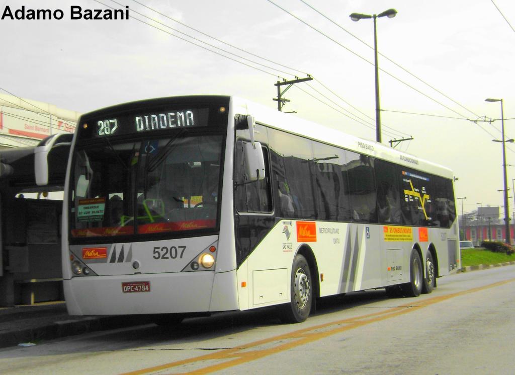 ônibus 15 metros