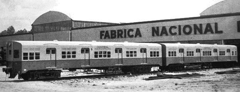Carro de Passageiro da Fábrica Nacional de Vagões
