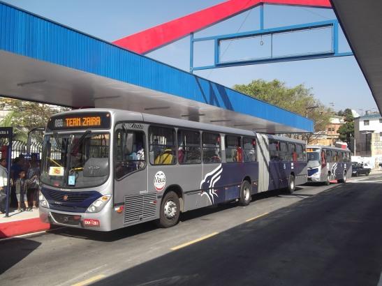 Novo Terminal de ônibus no Zaíra