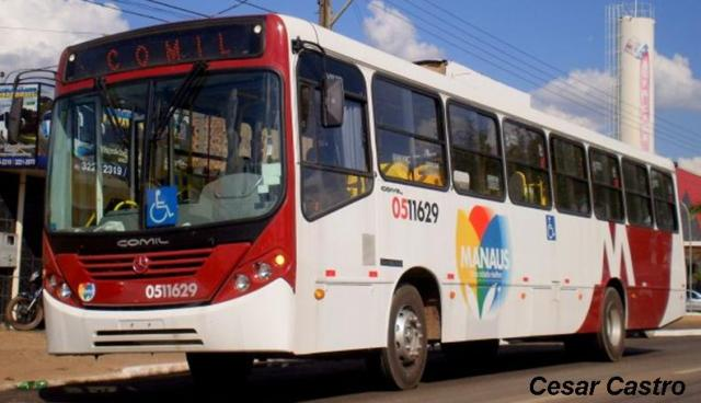 Greve de ônibus em Manaus