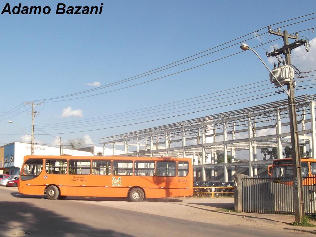 Fazenda Rio Grande ganha mais uma linha de ônibus  BLOG PONTO DE