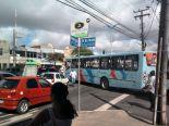 Greve de ônibus em Fortaleza