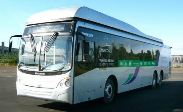 ônibus híbrido Itaipu
