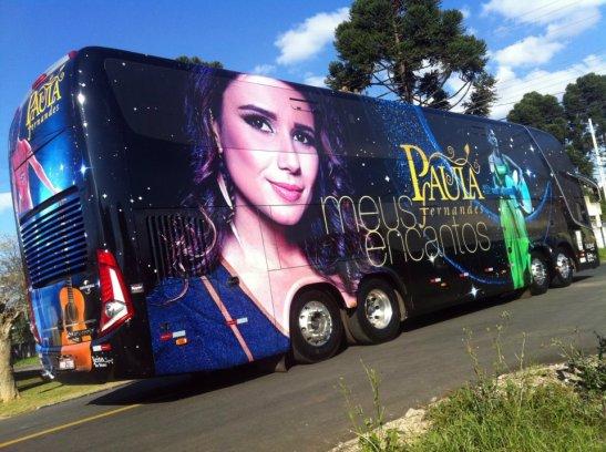 ônibus Paula Fernandes