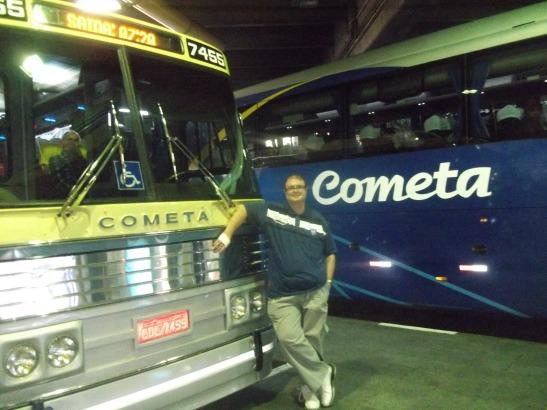 Viação Cometa 65 anos Flecha Azul