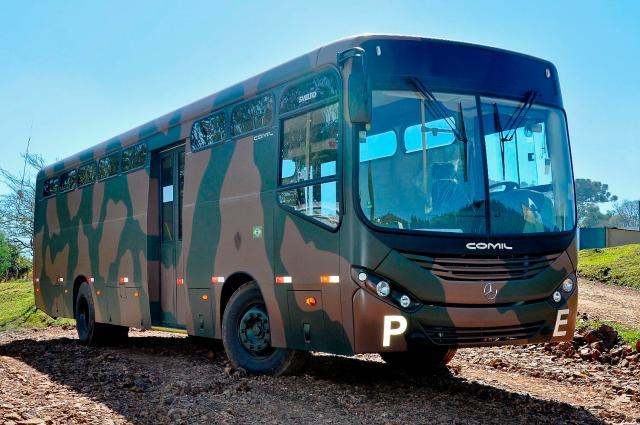 Exército ônibus