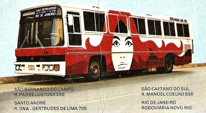 pinturas de ônibus antigos