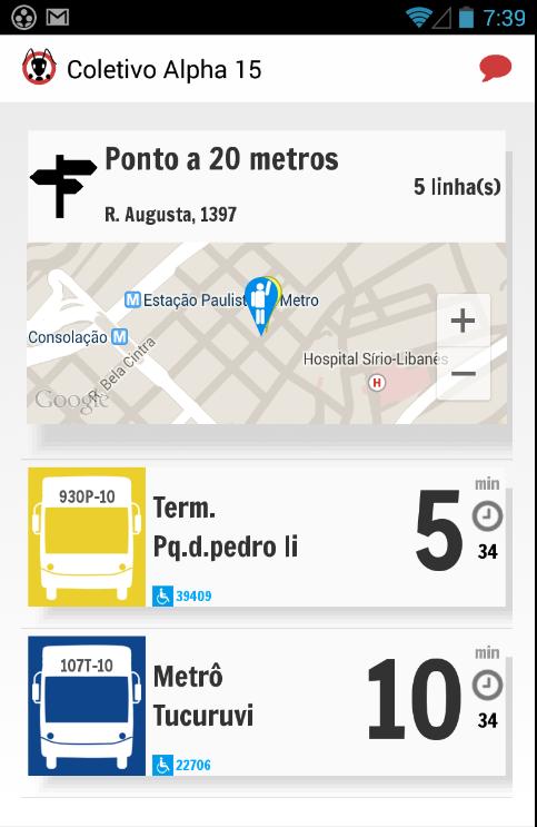 Aplicativo Mobilidade Urbana