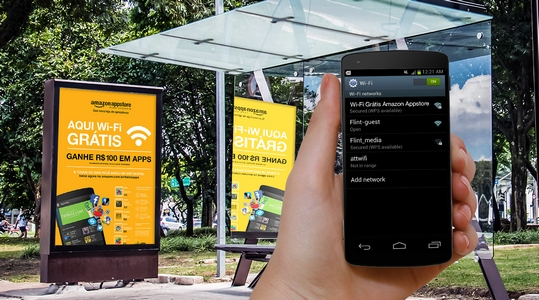 wi-fi ônibus amazon
