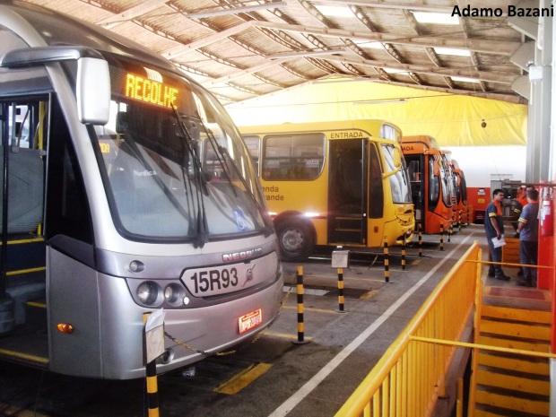 ônibus manutenção