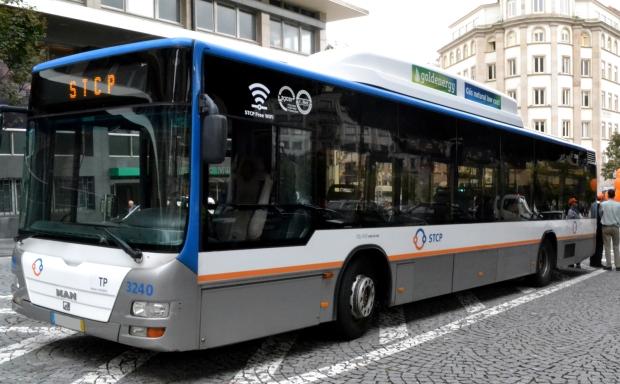autocarro porto wi-fi