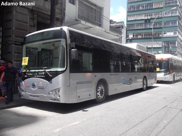 ônibus BYD