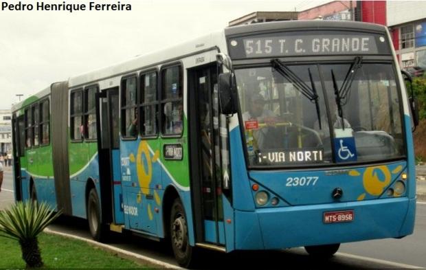 greve ônibus Vitória