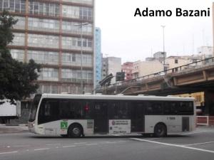 Ônibus urbano em São Paulo. Mobilidade terá discussões temáticas