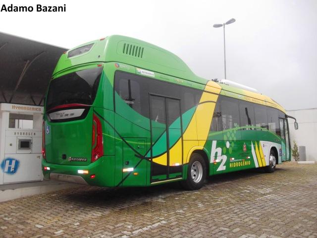 ônibus hidrogênio