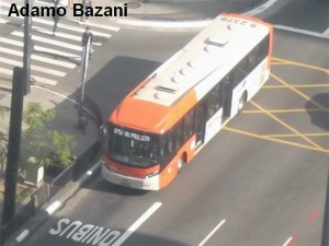 faixa de ônibus
