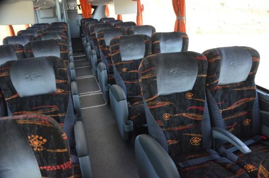 ônibus interior