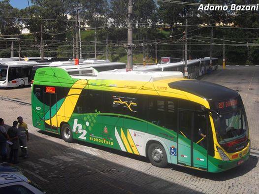 onibus hidrogênio hydrogen bus