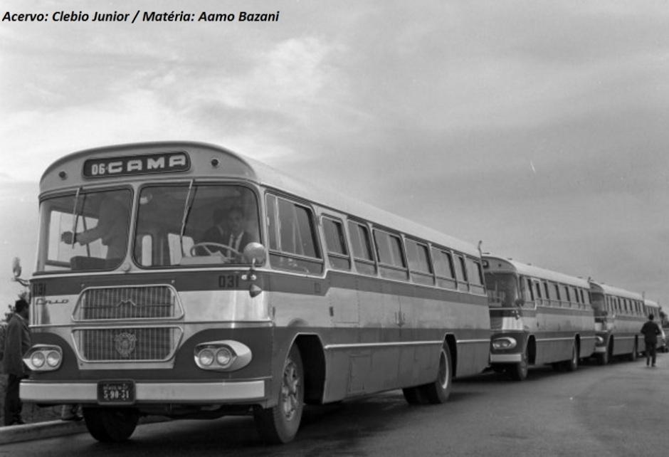 Flexibilidade era uma das palavras de ordem do Jaraguá, implementado em vários chassis, como mostra a sequencia destas fotos: FNM, Magirus Deutz, Scania