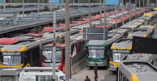 greve - ônibus
