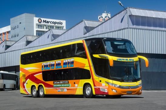 Ônibus de dois andares vão operar em trajetos da Argentina para o Brasil, Chile e Paraguai