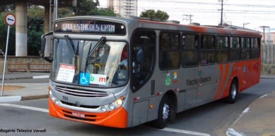 Ônibus em Osasco. Aplicativo também permite personalização com linhas e ponto mais usados.
