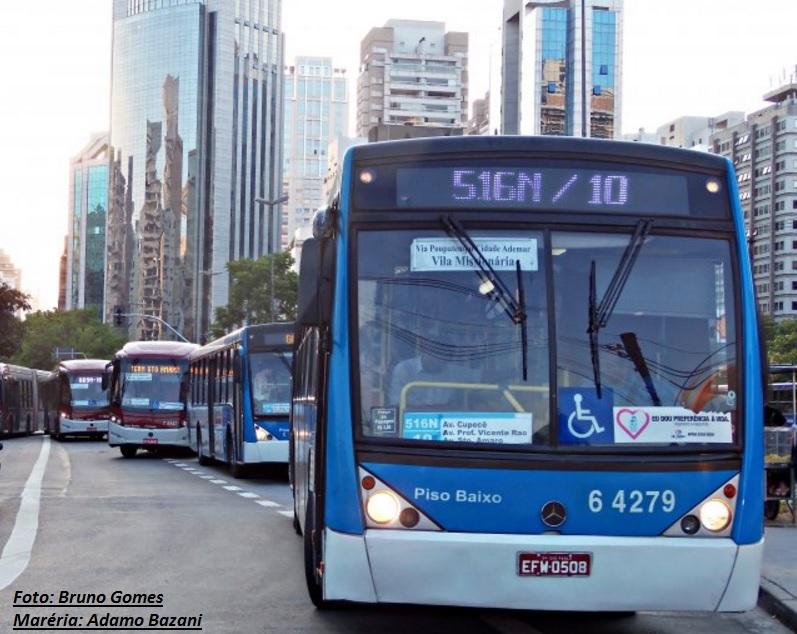 Ônibus em São Paulo poderão ser avaliados por instituto de consumidor