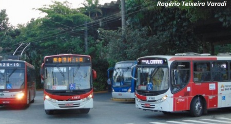 Ônibus em São Paulo. Passageiros podem ser geradores de informações sobre a cidade