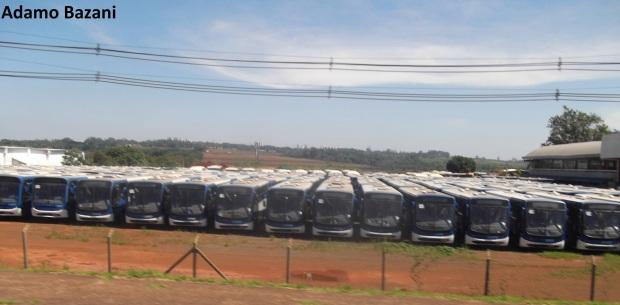 Ônibus que deixaram a Capital Paulista, mas que agora entram para a história dos transportes da cidade. Veículos serão vendidos para outros sistemas ou para serviços particulares