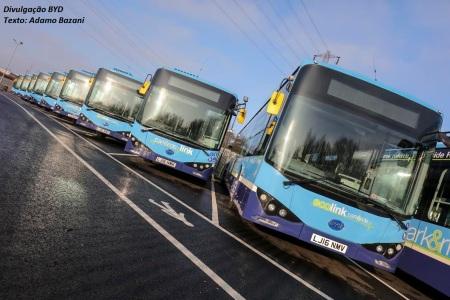 EcoLink é um conceito de transporte não poluente e que permite que o passageiro tenha acesso a serviços de informações e mais conforto durante a viagem