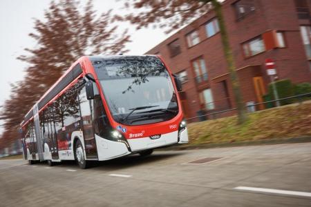 Ônibus elétrico da Holanda. Empresa vai comercializar todo o sistema e não apenas os veíoculos