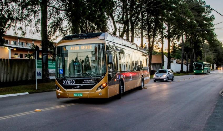 Híbrido em operação na cidade de Curitiba | Foto: Divulgação