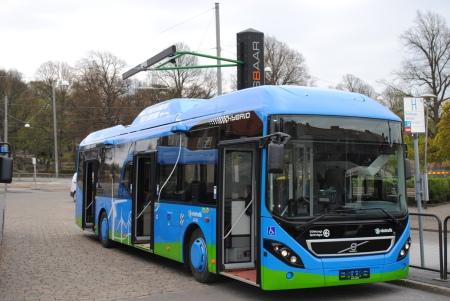 Ônibus híbrido em Gotemburgo, Cidade na Suécia