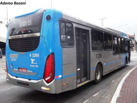 Ônibus podem ser de qualquer modelo, desde que urbanos