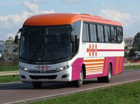 Vendas de ônibus para o mercado externo ajudaram a diminuir os impactos da crise brasileira