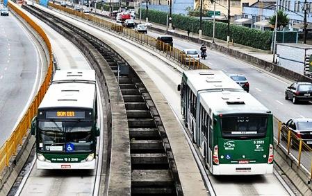 Somente o Expresso Tiradentes é BRT em São Paulo